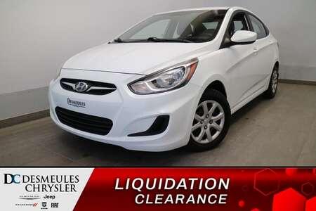 2014 Hyundai Accent L * MANUEL * ECONOMIQUE * PROPRE * PRISE AUX * for Sale  - DC-S2538A  - Blainville Chrysler