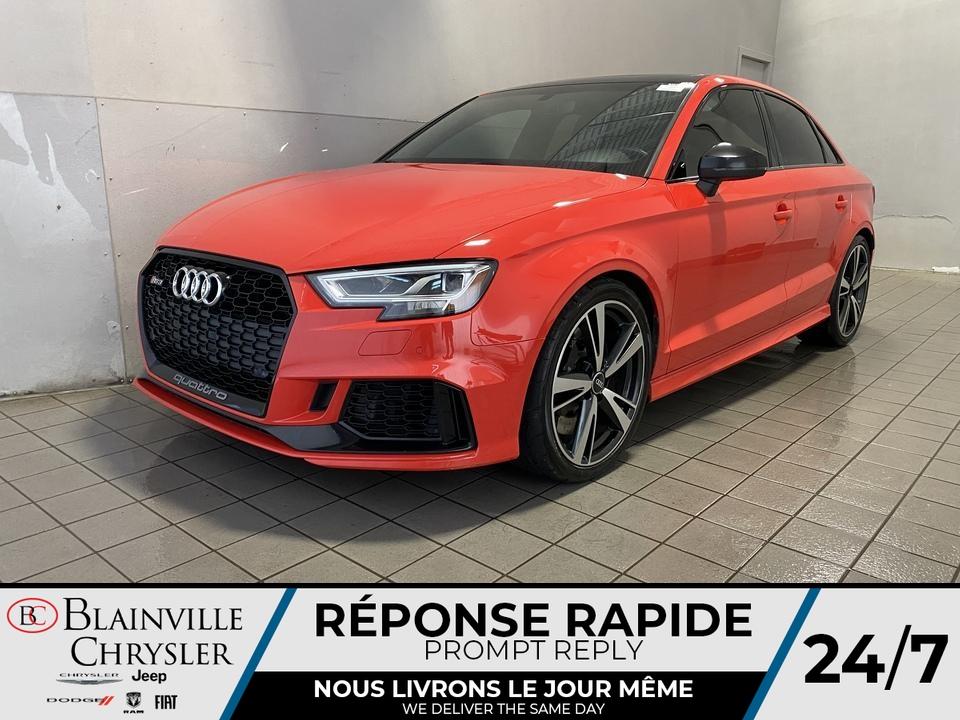 2018 Audi RS 3  - Desmeules Chrysler