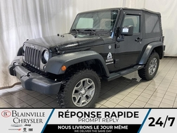 2014 Jeep Wrangler SPORT * BLUETOOTH * WOW * 4X4 * CRUISE *  - BC-D1782A  - Blainville Chrysler
