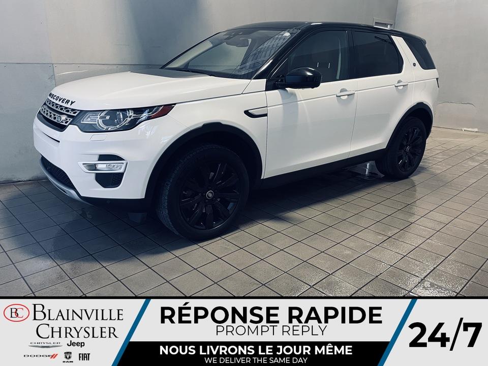 2018 Land Rover DISCOVERY SPORT  - Blainville Chrysler