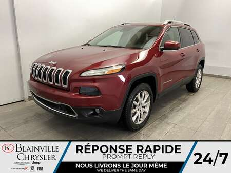 2014 Jeep Cherokee Limited * TOIT PANO * GPS * CRUISE ADAPTATIF * for Sale  - BC-21167A  - Blainville Chrysler