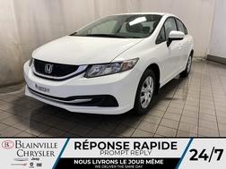 2014 Honda Civic LX * SIEGES CHAUFFANTS * BLUETOOTH * CRUISE * A/C  - BC-20592A  - Blainville Chrysler