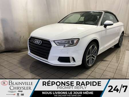 2017 Audi A3 2.0T ProgressiV * CAM RECUL * SIEGES CHAUFFANTS * for Sale  - BC-P1965  - Blainville Chrysler