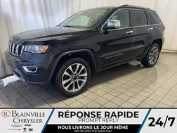 2018 Jeep Grand Cherokee LIMITED * CUIR * LANE KEEP ASSIST * CAM RECUL *  - BC-S1763  - Desmeules Chrysler