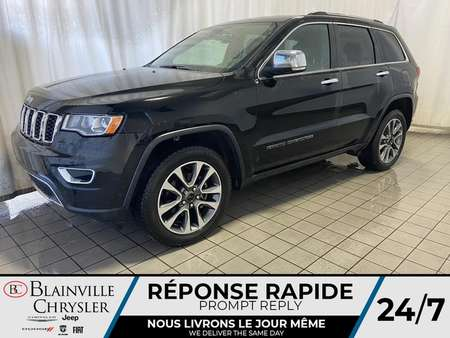 2018 Jeep Grand Cherokee LIMITED * CUIR * LANE KEEP ASSIST * CAM RECUL * for Sale  - BC-S1763  - Blainville Chrysler