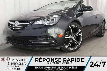 2016 Buick Cascada Premium * CONVERTIBLE * CUIR * BLUETOOTH * for Sale  - BC-P1314  - Desmeules Chrysler