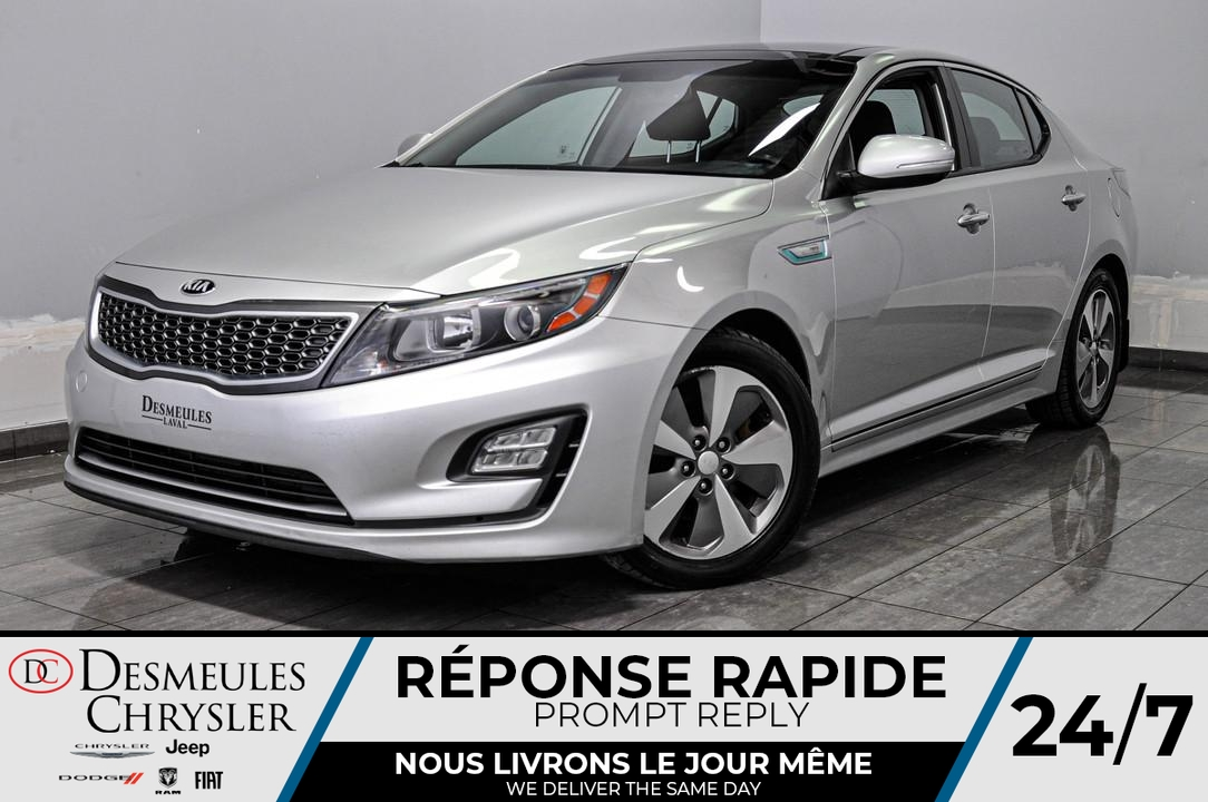 2014 Kia OPTIMA HYBRID  - Desmeules Chrysler