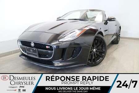 2014 Jaguar F-TYPE V6 S SUPERCHARGED * DECAPOTABLE  NAVIGATION * for Sale  - DC-S2817  - Blainville Chrysler