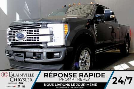 2019 Ford F-250 PLATINUM * CREW CAB * POWER STROKE * FULL LOAD * for Sale  - BC-A2397  - Desmeules Chrysler