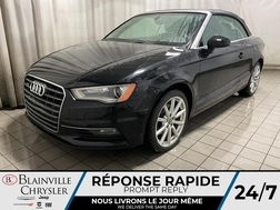 2015 Audi A3 2.0T Komfort * SIEGES CHAUFFANTS * BLUETOOTH *  - BC-P2033A  - Desmeules Chrysler