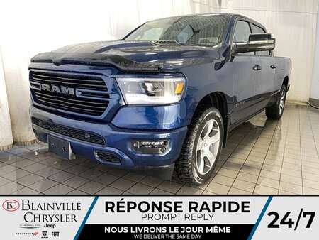2020 Ram 1500 Sport Crew Cab * TOIT PANO * CAMERA RECUL * for Sale  - BC-C2002  - Desmeules Chrysler
