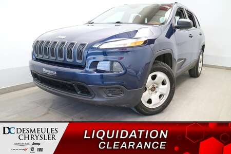 2018 Jeep Cherokee Sport AWD * UCONNECT * CAM DE RECUL * CRUISE for Sale  - DC-B2482C  - Blainville Chrysler