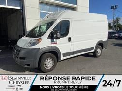 2018 Ram ProMaster Cargo Van BLUETOOTH * CRUISE * A/C *  - BC-P1834  - Blainville Chrysler