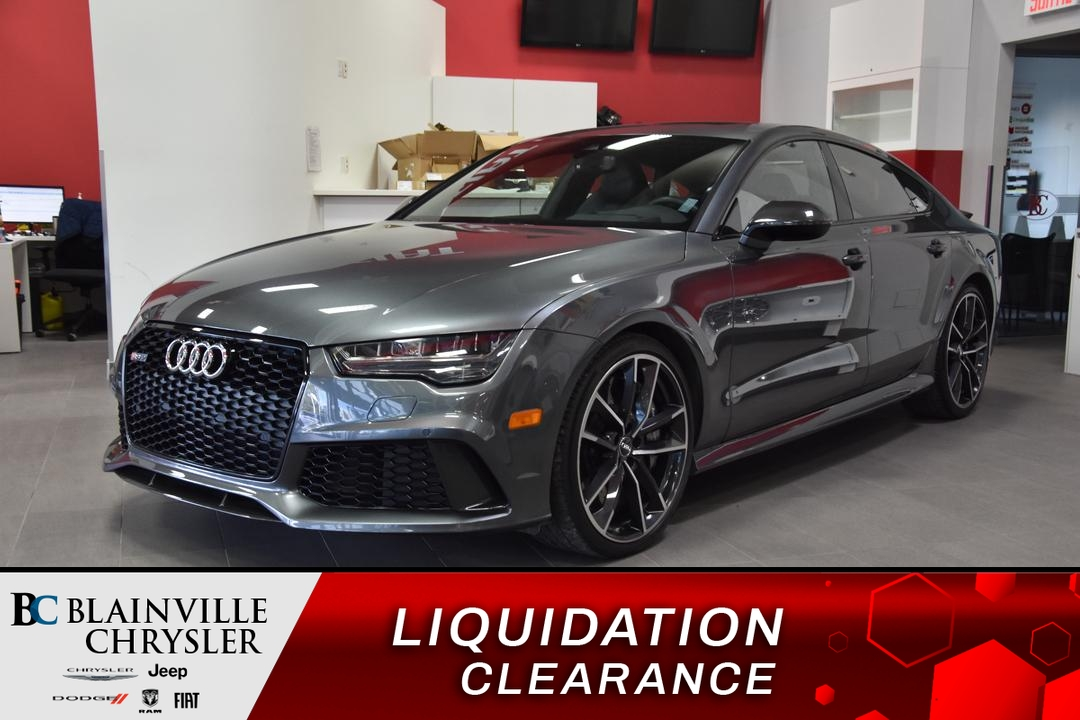 2017 Audi RS 7  - Blainville Chrysler