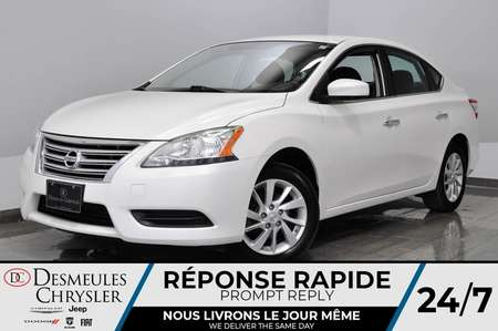 2015 Nissan Sentra 1.8 SV + a/c + bluetooth + cam recul for Sale  - DC-L2089  - Desmeules Chrysler