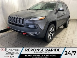 2016 Jeep Cherokee Trailhawk * CAM RECUL * SIEGES/VOLANT CHAUFFANTS  - BC-M1999A  - Desmeules Chrysler