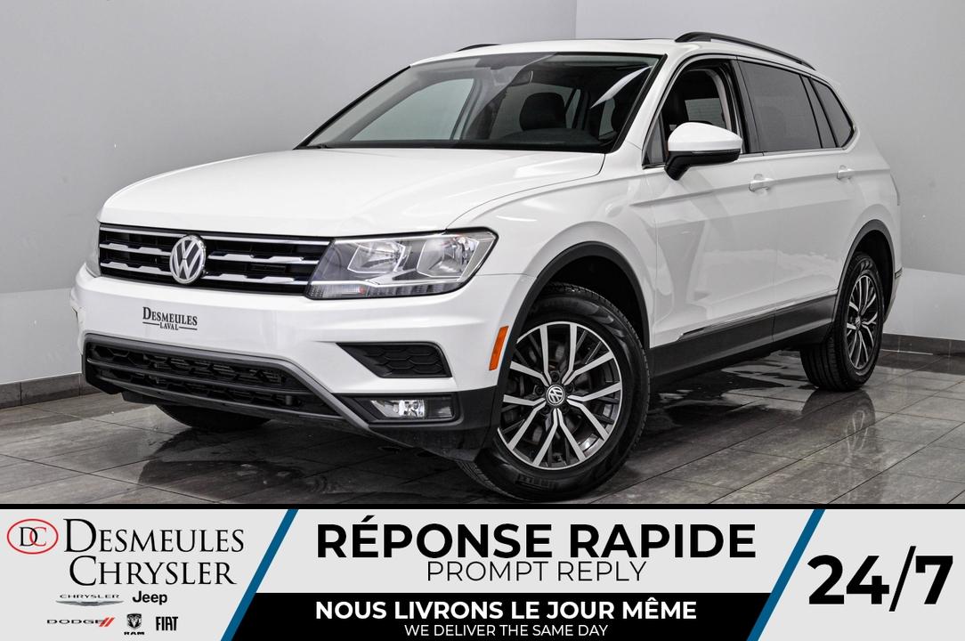 2018 Volkswagen Tiguan  - Desmeules Chrysler