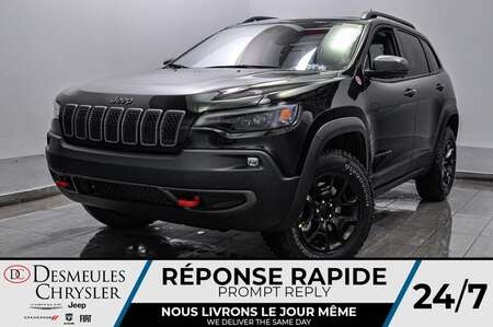 2021 Jeep Cherokee Trailhawk * WIFI * TOIT OUVRANT * GPS for Sale  - DC-21057  - Desmeules Chrysler
