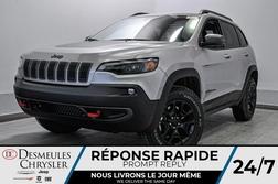 2021 Jeep Cherokee Trailhawk *WIFI *GPS *CUIR  - DC-21060  - Blainville Chrysler