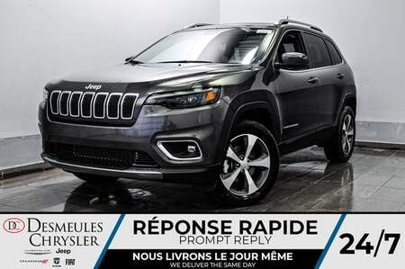 2021 Jeep Cherokee Limited * SIEGES ET VOLANT CHAUFFANTS * for Sale  - DC-21128  - Desmeules Chrysler