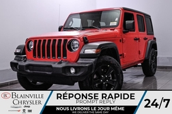 2021 Jeep Wrangler * UNLIMITED SPORT S SIEGES CHAUFFANTS + +  - DC-21124  - Blainville Chrysler