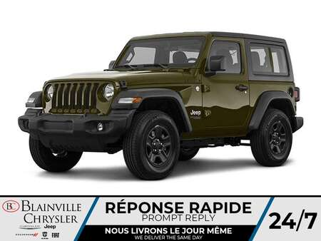 2021 Jeep Wrangler Sport S for Sale  - BC-21198  - Desmeules Chrysler
