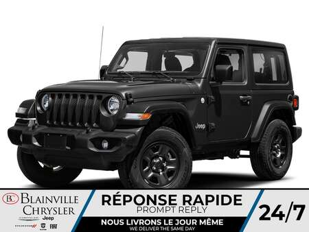 2021 Jeep Wrangler Sport S for Sale  - BC-21208  - Desmeules Chrysler
