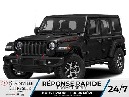 2021 Jeep Wrangler Rubicon for Sale  - BC-21184  - Desmeules Chrysler