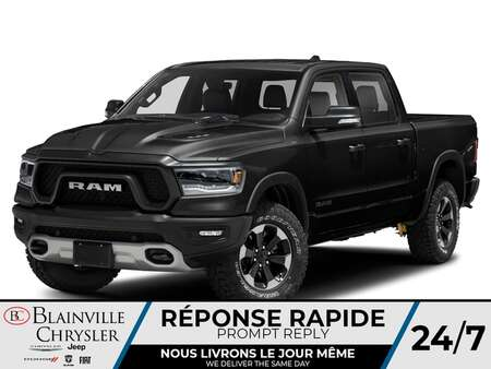 2021 Ram 1500 Rebel Crew Cab for Sale  - BC-21229  - Blainville Chrysler