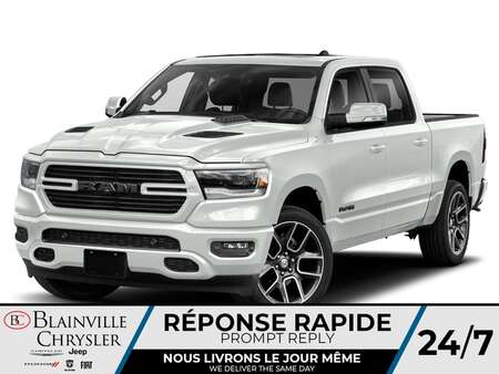 2021 Ram 1500 Sport Crew Cab for Sale  - BC-21244  - Desmeules Chrysler