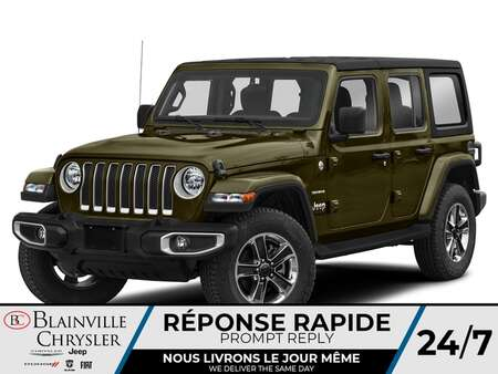 2021 Jeep Wrangler Sahara for Sale  - BC-21265  - Desmeules Chrysler