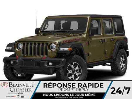 2021 Jeep Wrangler Unlimited Rubicon for Sale  - BC-21397  - Desmeules Chrysler