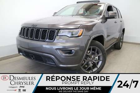 2021 Jeep Grand Cherokee 80th Anniversary 4X4 * UCONNECT 8.4 PO *CAMERA*NAV for Sale  - DC-C47227958  - Blainville Chrysler