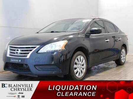 2015 Nissan Sentra MANUEL * CRUISE CONTROL * AUX * BLUETOOTH * BAS KM for Sale  - BC-A2383  - Blainville Chrysler