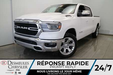 2021 Ram 1500 Crew Cab BIG HORN 4X4 * UCONNECT 8.4 PO * CAM * for Sale  - DC-21390  - Desmeules Chrysler
