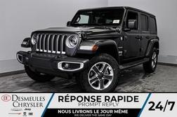 2020 Jeep Wrangler Sahara + TURBO + BANCS CHAUFF + UCONNECT *137$/SEM  - DC-20210  - Desmeules Chrysler