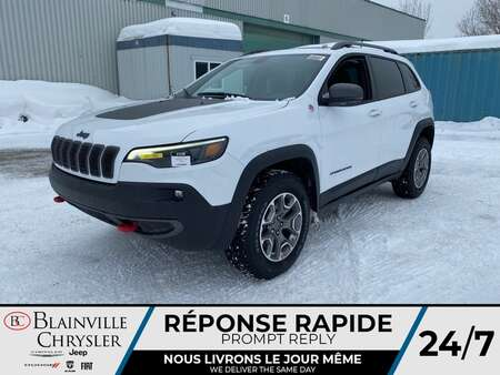 2021 Jeep Cherokee Trailhawk * APPLE CARPLAY * CAM RECUL * TOIT PANO for Sale  - BC-21338  - Blainville Chrysler
