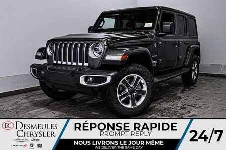 2020 Jeep Wrangler Sahara + TURBO + UCONNECT + WIFI  *137$/SEM for Sale  - DC-20165  - Desmeules Chrysler