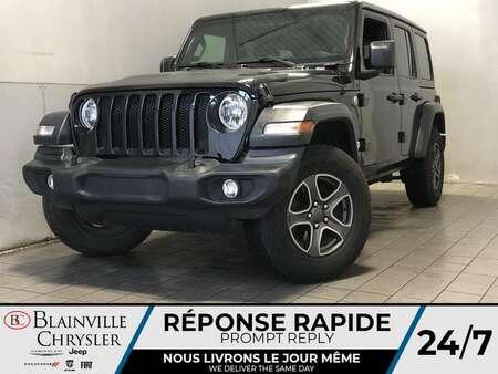 2018 Jeep Wrangler SPORT S * VOLANT + SIEGES CHAUFFANTS * TOIT RIGIDE for Sale  - BC-21744A  - Blainville Chrysler