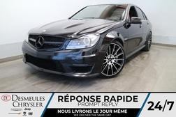 2013 Mercedes-Benz C-Class C 63 AMG * NAVIGATION * TOIT OUVRANT * CUIR ROUGE  - DC-U3038  - Desmeules Chrysler