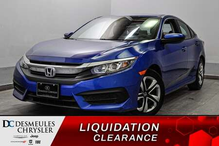 2017 Honda Civic LX * CAMERA DE RECUL * SIEGES CHAUFFANTS * ECO * for Sale  - DC-S2168  - Blainville Chrysler