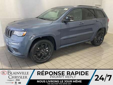 2021 Jeep Grand Cherokee LIMITED X V6 * CUIR VENTILLÉS * TOIT PANORAMIQUE * for Sale  - BC-21518  - Desmeules Chrysler