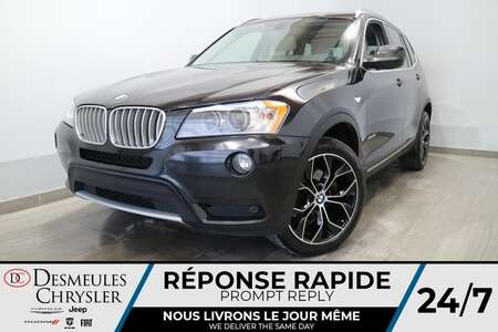 2014 BMW X3 xDrive28i AWD * NAVIGATION * TOIT OUVRAIT * CRUISE for Sale  - DC-LUDO015  - Blainville Chrysler