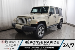 2017 Jeep Wrangler UNLIMITED SAHARA * BLUETOOTH * SIEGES CHAUFFANTS *  - BC-P1846A  - Desmeules Chrysler