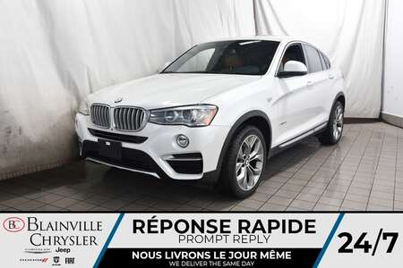 2016 BMW X4 28i * xDRIVE * GPS * CAM RECUL * TOIT OUVRANT * for Sale  - BC-S1809  - Blainville Chrysler