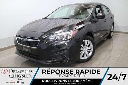 2018 Subaru Impreza 2,0i AWD * AIR CLIMATISE * CAMERA  RECUL * CRUISE for Sale  - DC-S2538  - Blainville Chrysler
