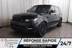 2016 Land Rover Range Rover SUPERCHARGED * INTERIEUR ROUGE * TOIT PANO *  - BC-S1821  - Desmeules Chrysler