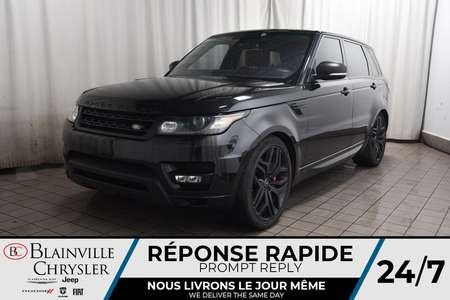 2016 Land Rover Range Rover SUPERCHARGED * INTERIEUR ROUGE * TOIT PANO * for Sale  - BC-S1821  - Blainville Chrysler