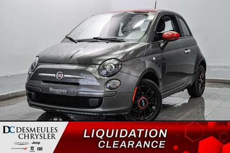 2015 Fiat 500 Pop * A/C * CRUISE * BLUETOOTH * for Sale  - DC-L2114  - Blainville Chrysler