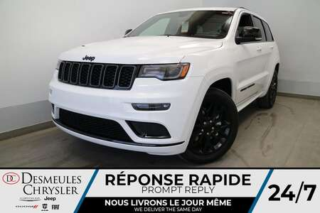 2021 Jeep Grand Cherokee LIMITED X 4X4 UCONNECT 8.4 PO * NAVIGATION * CUIR for Sale  - DC-J21091  - Blainville Chrysler